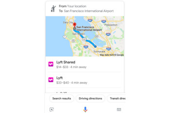 You can now ask Google Assistant to book you a ride to your destination
