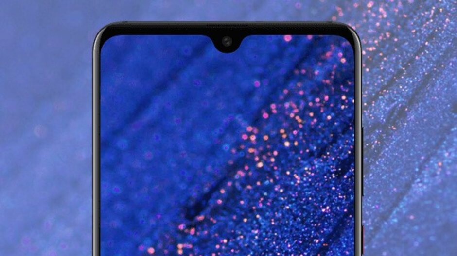 Huawei Mate 20 official press renders leak: waterdrop notch, triple-camera setup