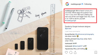 """Could there be a mini Pixel for real?; Google """"Bonito"""" with SD-710 is being tested on GFX"""