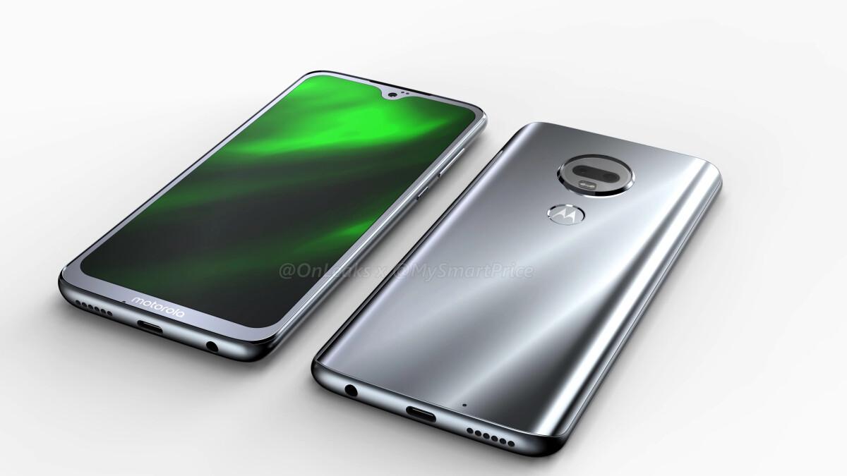 Leaked Moto G7 renders reveal waterdrop notch and rear-mounted fingerprint scanner