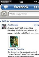 Facebook version 1.2 for webOS rolls out on time