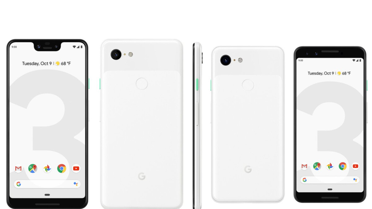 Google Pixel 3 and Pixel 3 XL leak in full glory, images galore