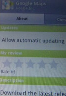 Will apps automatically update on Android 2.2?