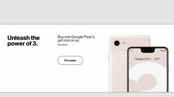 Verizon leaks Google Pixel 3 pricing ahead of launch