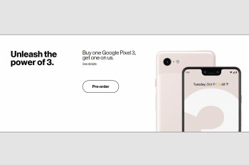 Verizon leaks Google Pixel 3 pricing ahead of launch