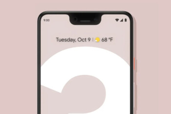 Google tried to include a notch on the regular Pixel 3; hardware restrictions stopped it