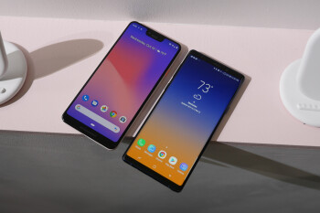 Google Pixel 3 XL vs Samsung Galaxy Note 9: first look