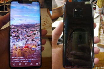 Black Huawei Mate 20 Pro stars in freshly leaked hands-on images