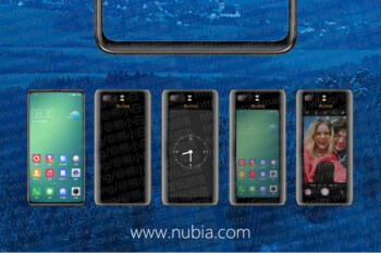 Dual-screen Nubia X leaks in the flesh, may take selfies with the rear camera and display