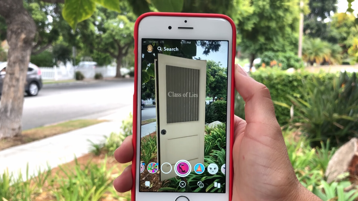 Snapchat releases Snap Originals - short daily shows with AR enabled scenes