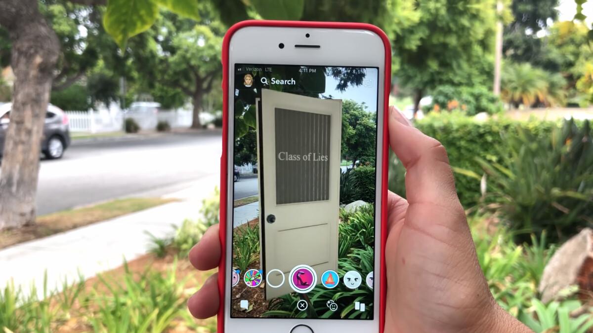 Snapchat veröffentlicht Snap Originals - kurze tägliche Shows mit AR-fähigen Szenen