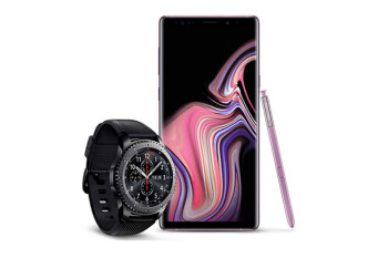 Buy a 512GB Samsung Galaxy Note 9 from Amazon, get a free Gear S3 Frontier watch today only