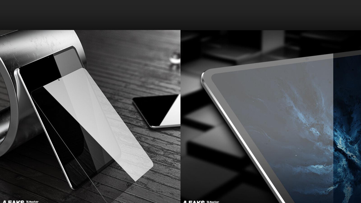 iPad Pro 2018 leaks with slim bezels, no notch in sight!