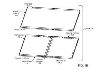 Foldable Surface Phone patent shows device with one flexible screen instead of two separate panels