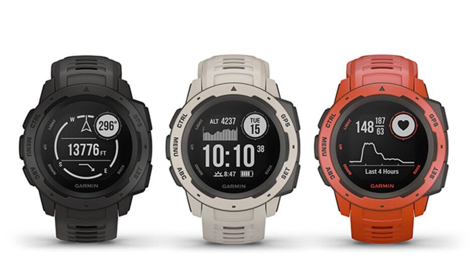 Garmin Instinct rugged smartwatch goes official