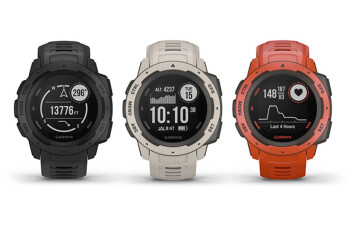 Garmin Instinct rugged smartwatch goes official