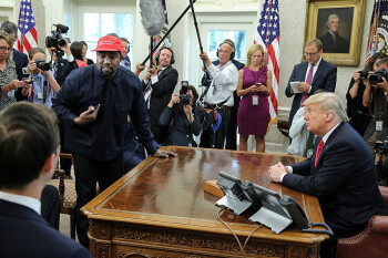 Kanye West goes West Wing, asks Apple to build a plane, and reveals his iPhone password