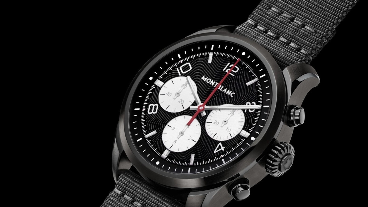 The Montblanc Summit 2 is a $1000 Snapdragon Wear 3100-powered Wear OS smartwatch