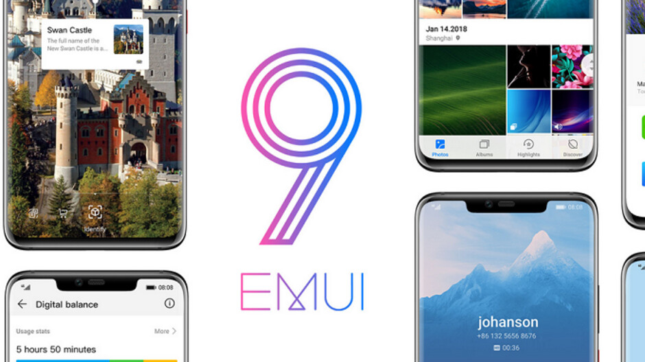 Huawei's EMUI 9 0 to debut on the Mate 20, Mate 20 Pro with