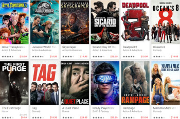 user owned sd and hd films from google play movies tv are getting