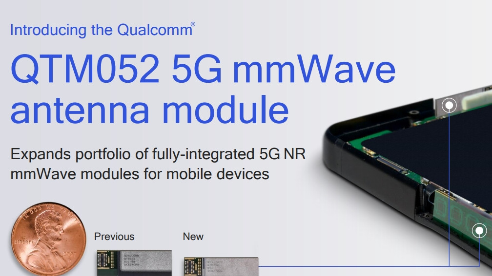 The 5G phones of the future are getting one more gift from Qualcomm