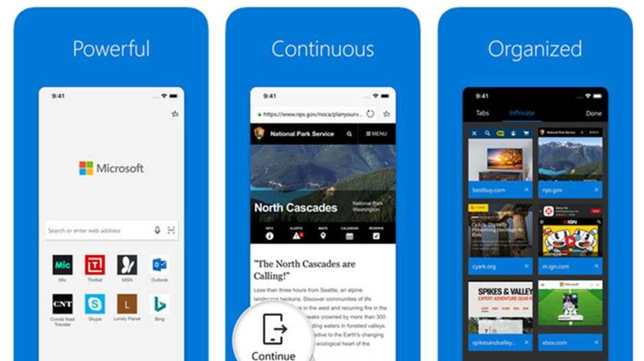 Microsoft Edge for iOS updated with Siri shortcuts, more improvements