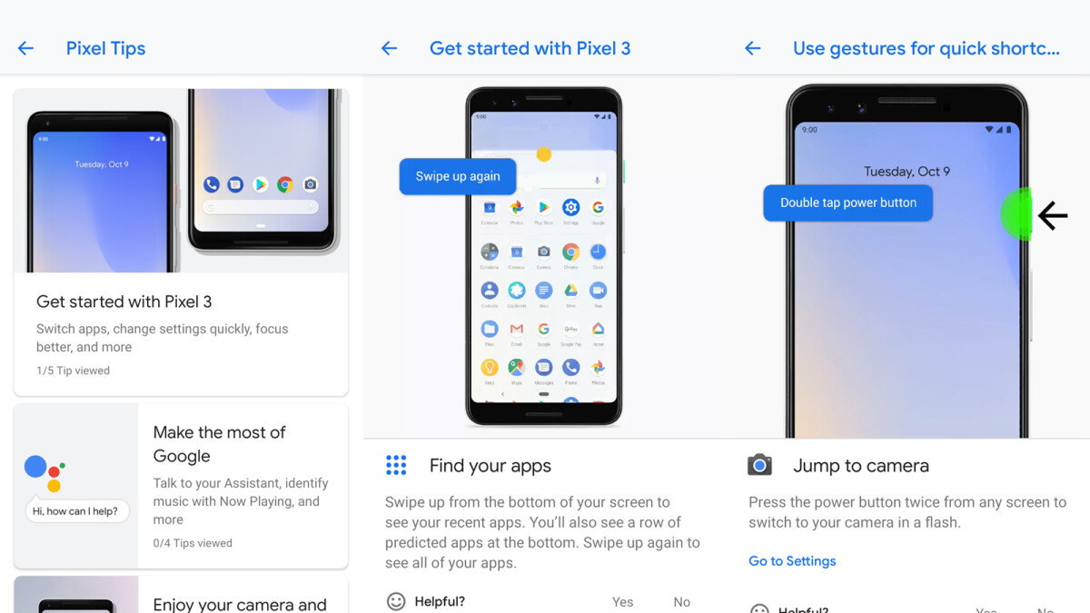 Two Pixel 3 exclusive apps hit the Google Play Store