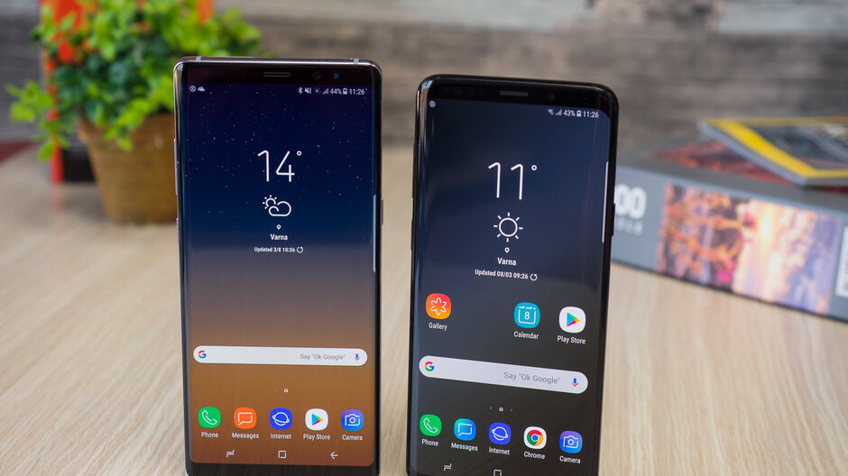 More pictures of Android 9 Pie on the Samsung Galaxy S9+: big, bold, beautiful