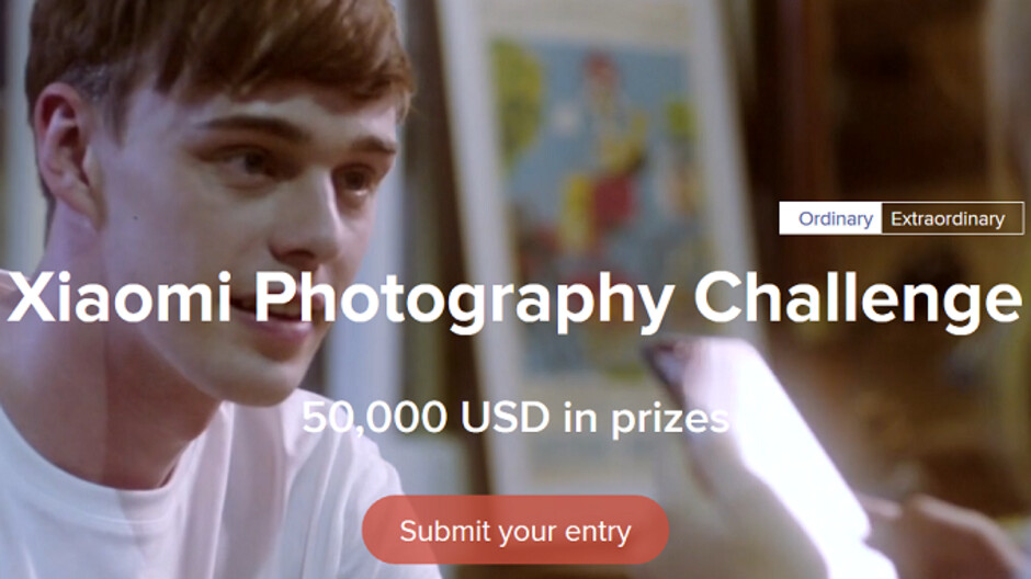Xiaomi Photographic Challenge to award four first prize winners $10,000 USD each