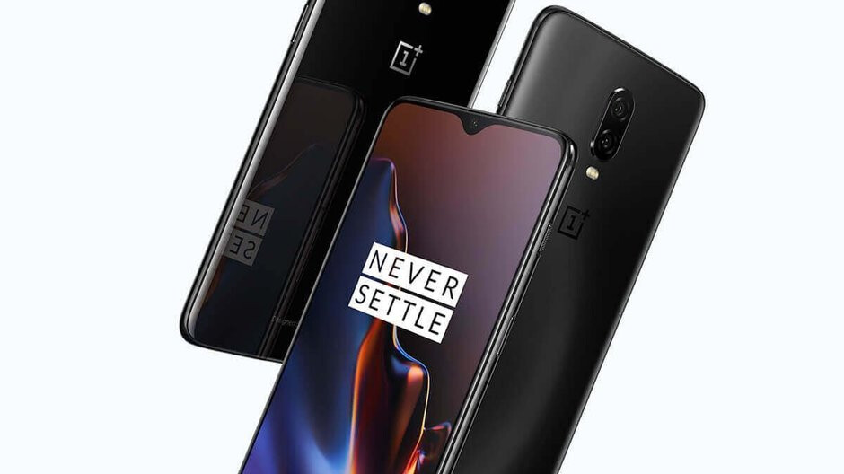 OnePlus 6T live images leak hours before announcement, see the phone's front and back sides