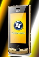 Windows Mobile powered LG GT500s flashes its golden exterior