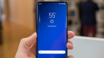 Here's what a Galaxy S10 with an under-display front-facing camera might look like