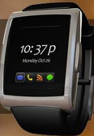 The inPulse for BlackBerry smartwatch keeps you well informed