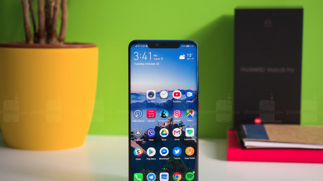 Image result for Huawei Mate 20 Pro First Update Brings October 2018 Security Patch, Camera Enhancements