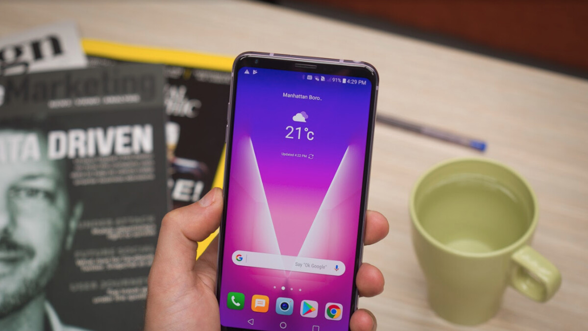 T-Mobile LG V30 update brings Always-on display enhancements