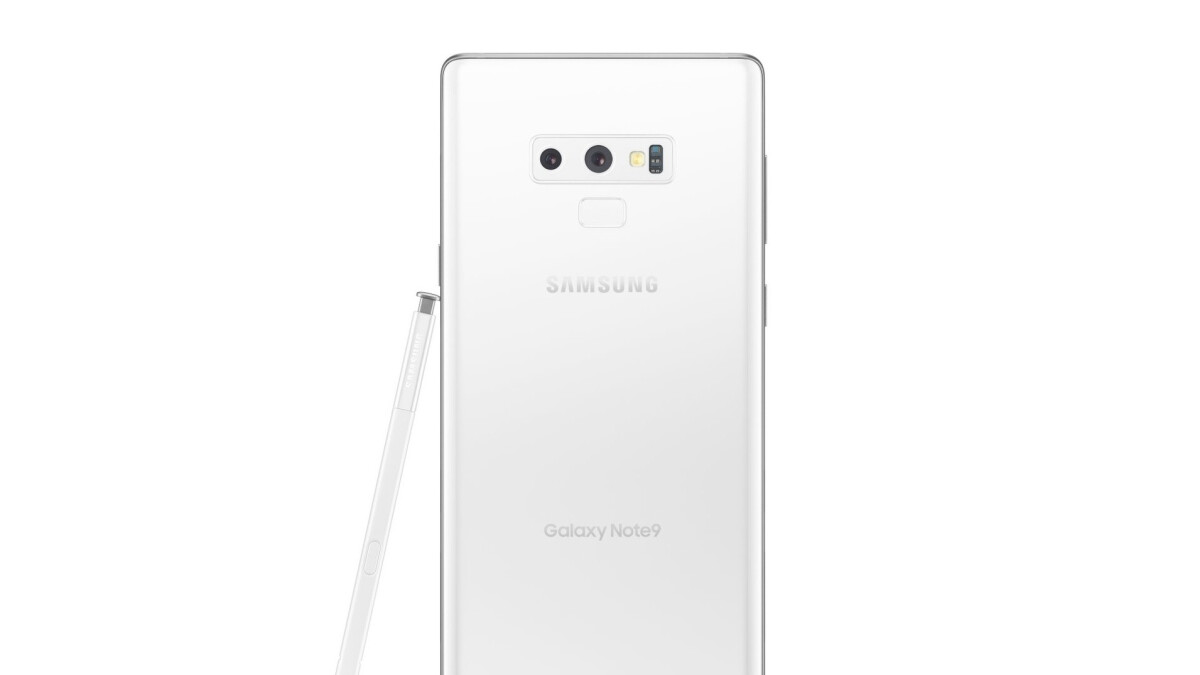 White Galaxy Note 9 version possibly in the pipeline, right on time for Christmas