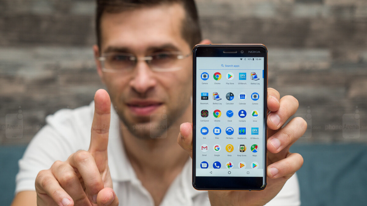 nokia 6 1 with android pie hits new all time low price of 200 at best buy and amazon phonearena. Black Bedroom Furniture Sets. Home Design Ideas