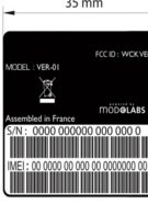 Versace's phone struts its way into the FCC - possibly the LG GD970?