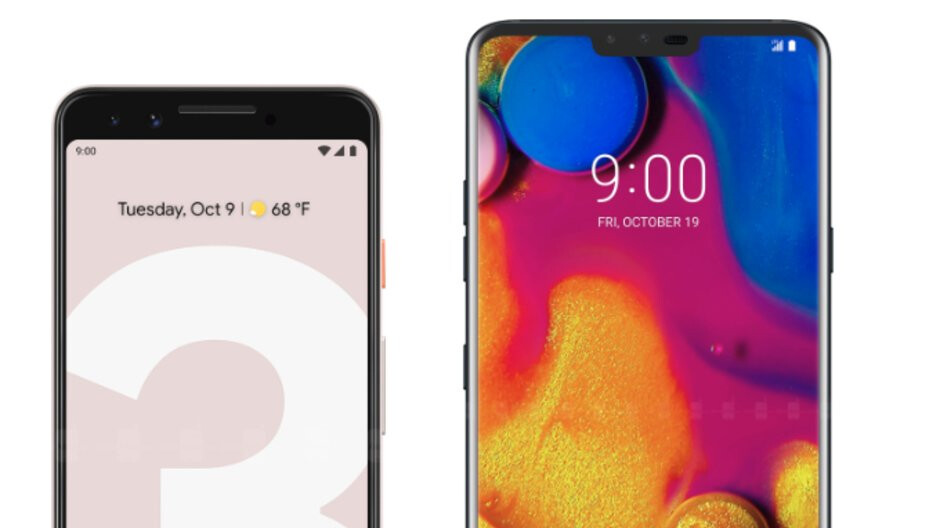 What'd you spend your money on: Google Pixel 3 or LG V40?