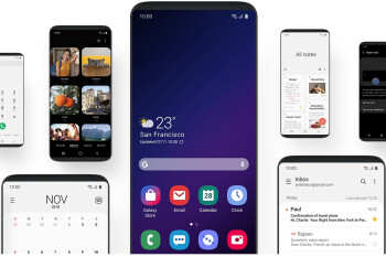 Samsung is on the right track with its new One UI interface for easy one-handed operation (poll results)
