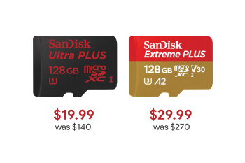 Deal: SanDisk Ultra 128GB microSD card for just $19.99