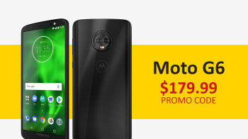 The Moto G6 is now just $179.99 at Newegg with this promo code