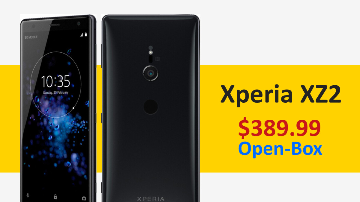Deal: Sony Xperia XZ2 for $390, open-box at Best Buy
