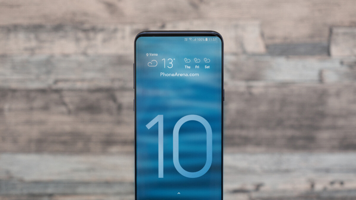 Samsung Galaxy S10 Could Use Horizontal Camera Setup To Allow For Ger Battery