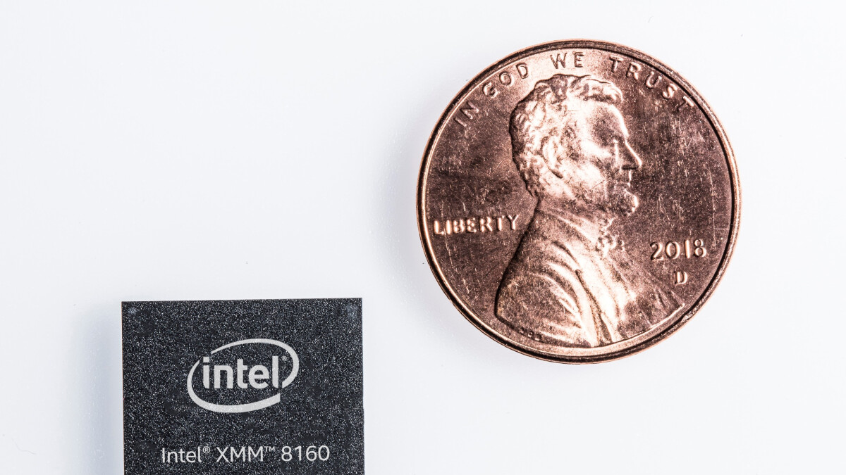 Intel officially announces its 5G smartphone modem, first appearance expected in 2020