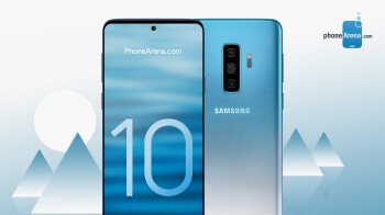 This could be our earliest look at one of the Galaxy S10 gradient color schemes