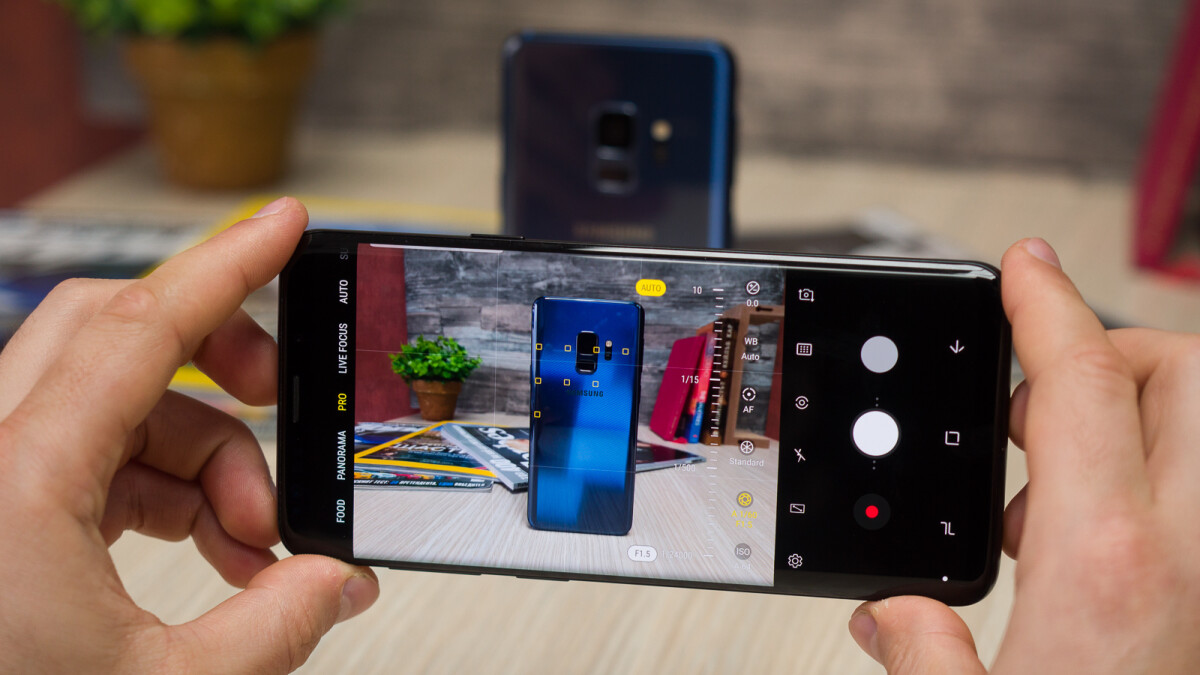 Do you use manual controls for your phone's camera?