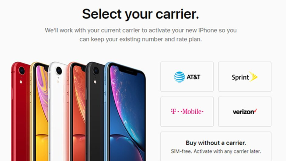 Apple starts selling the unlocked version of iPhone XR
