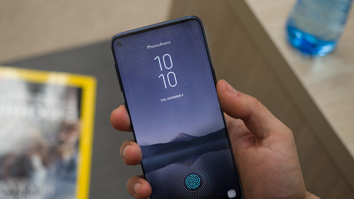 Samsung's Infinity-O display patents reveal the eventual Galaxy S10 design, hole to be drilled with lasers