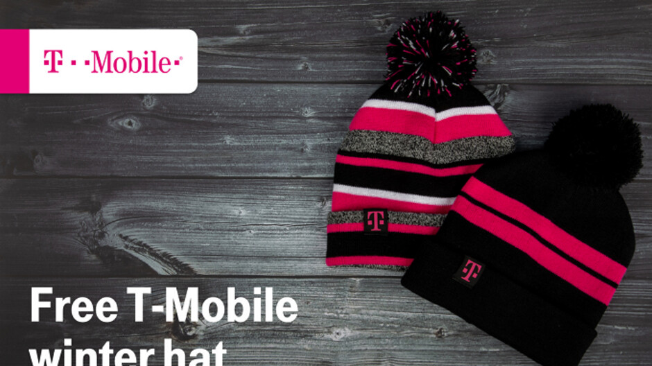 T-Mobile subscribers receive a free Winter hat this Tuesday
